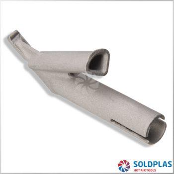 Tobera de Soldadura Rápida Triangular 7mm Ajustable sobre Tobera 4000 para soldadoras manuales Forsthoff