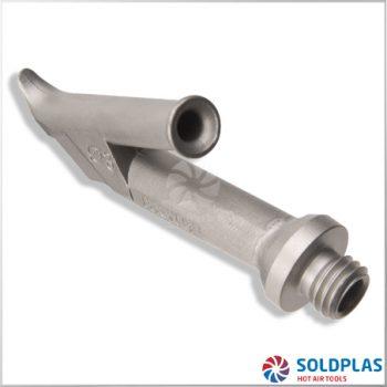 Tobera de Soldadura Rápida Redonda 4mm M10 Ajustable sobre Tobera 4007 para soldadores manuales Forsthoff