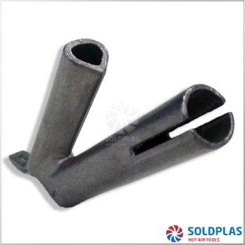 Tobera de Soldadura Rápida Triangular 5mm Ajustable sobre Tobera 4000 para soldadores manuales Forsthoff