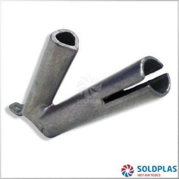 Tobera de Soldadura Rápida Triangular 7,5mm Ajustable sobre Tobera 4000 para soldadores manuales Forsthoff