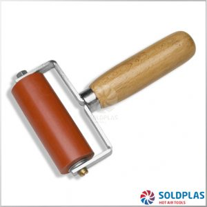 Rodillo de Presión Silicona con Rodamientos 80mm 2 Brazos para soldadores manuales Forsthoff