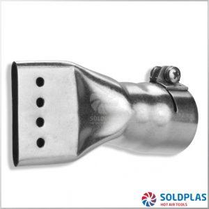 Tobera Plana 40mm Perforada para soldadores manuales Forsthoff