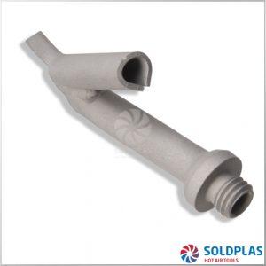 Tobera de Soldadura Rápida Triangular 5mm M10 Ajustable sobre Tobera 4007 para soldadores manuales Forsthoff