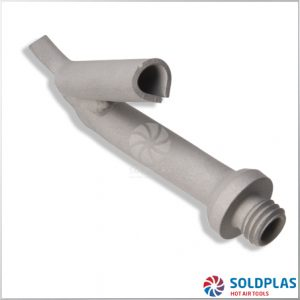 Tobera de Soldadura Rápida Triangular 7,5mm M10 Ajustable sobre Tobera 4007 para soldadores manuales Forsthoff