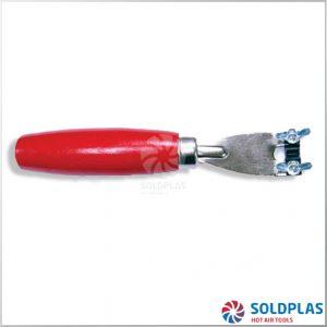 Fresadora Manual Incluye 5 Cuchillas en el Mango para soldadoras manuales Forsthoff